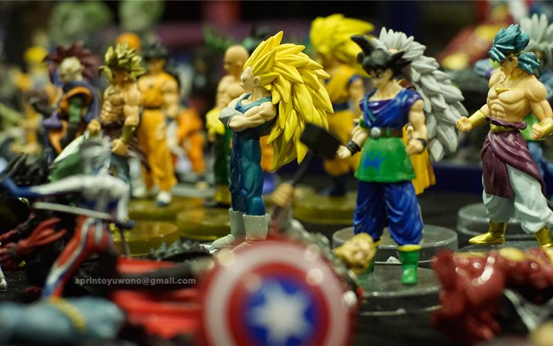 selforia---jakarta-comic-n-toys-fair---dragon-ball-figures