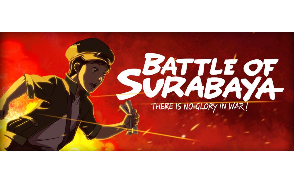 aprinto yuwono - battle of surabaya banner