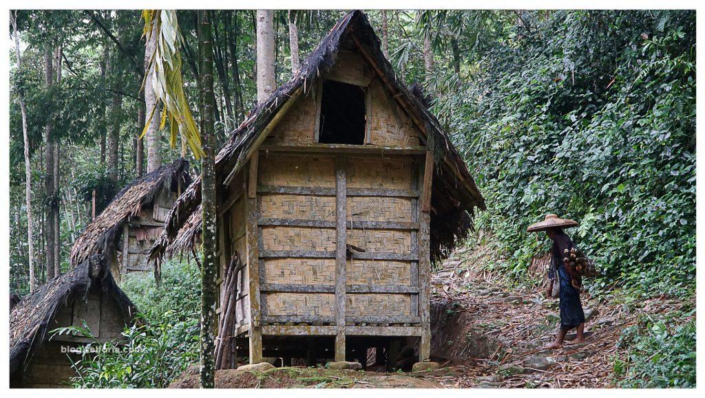 salah satu lumbung padi penduduk baduy