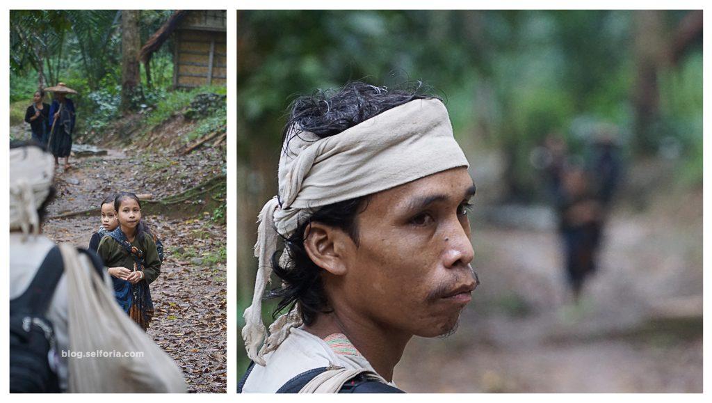 penduduk baduy yang kami temui sepanjang perjalanan