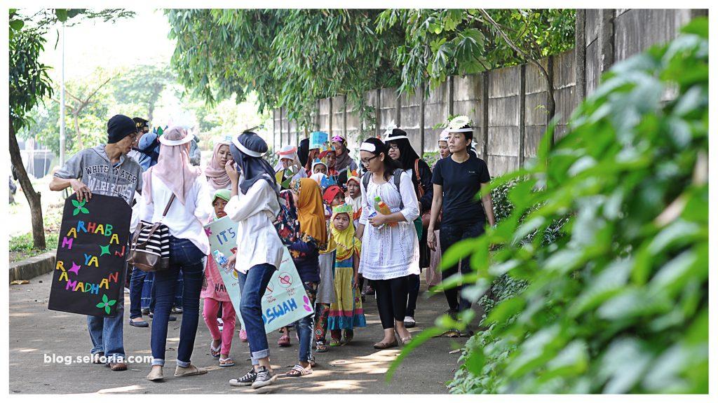 Karnaval anak - anak Sekolah Bersama